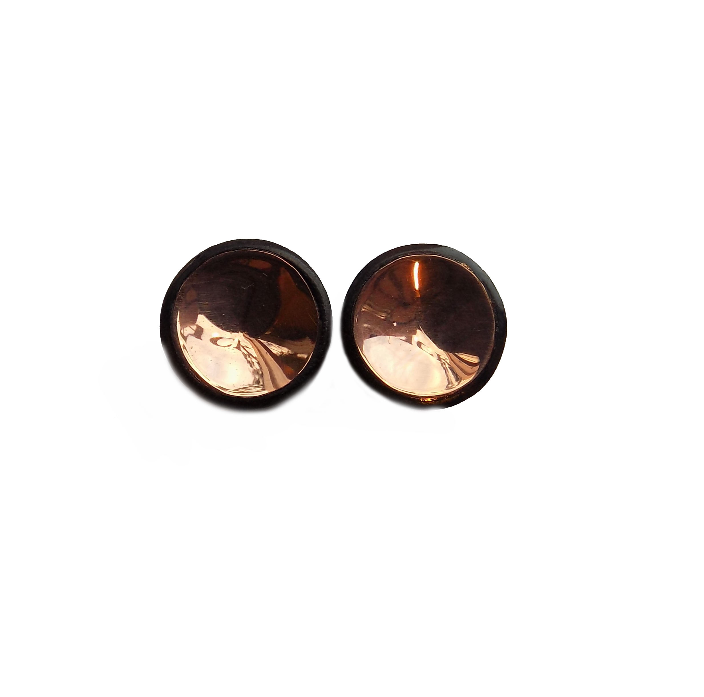 hammer bronze plugs plug faux realistic shaped pin stud earrings fake gauge in