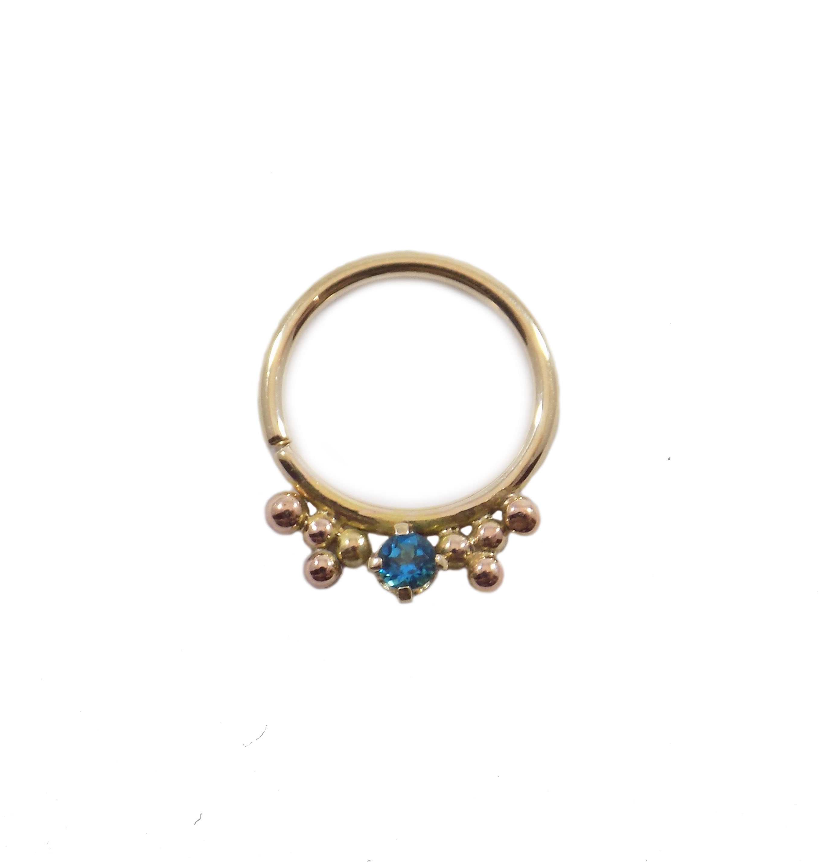 topaz blue categories identity goddess piercing clickers product body beaded bluebeadedring rings ring category triplet