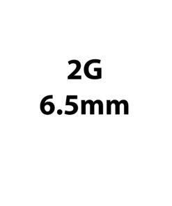 6.5mm / 2g