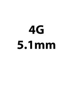 5.1mm / 4g