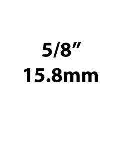 "15.8mm / 5/8"""