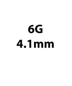 4.1mm / 6g