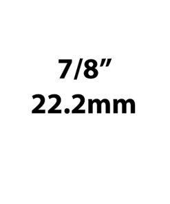 "22.2mm / 7/8"""