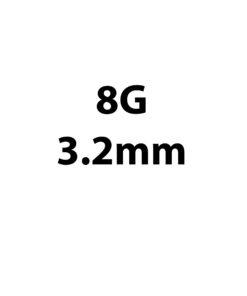 3.2mm / 8g