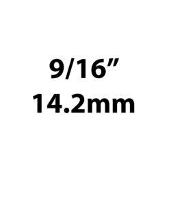 "14.2mm / 9/16"""